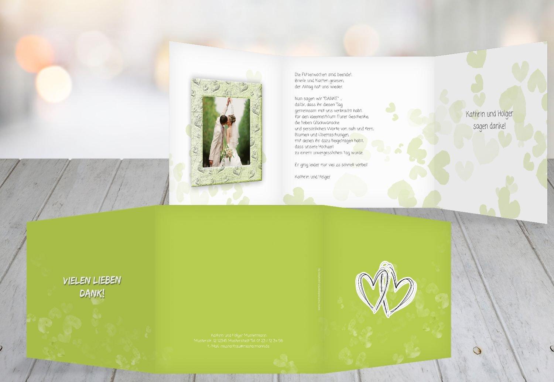 Kartenparadies Danksagung für Hochzeitsgeschenke Hochzeit Dankeskarte Liebesglück, Liebesglück, Liebesglück, hochwertige Danksagungskarte Hochzeitsglückwünsche inklusive Umschläge   20 Karten - (Format  145x145 mm) Farbe  Türkisblaukräftig B01MZC 606bbb