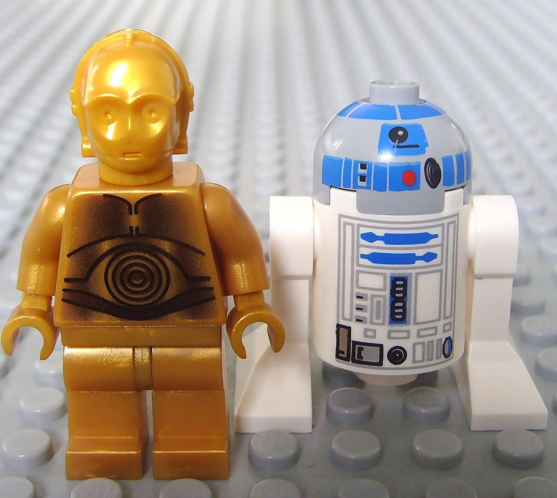 Lego Star Wars Mini fig.ure - C-3PO & R2-D2 (2 Pack): Amazon.es ...