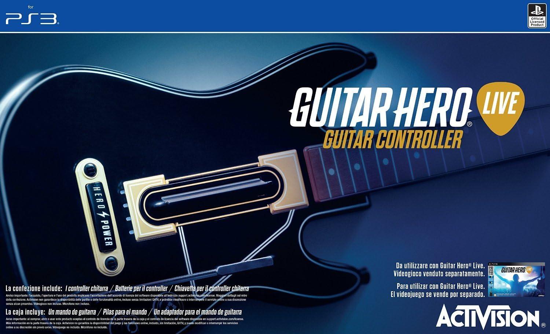 Activision - Guitarra Guitar Hero Live (PlayStation 3): Amazon.es: Videojuegos