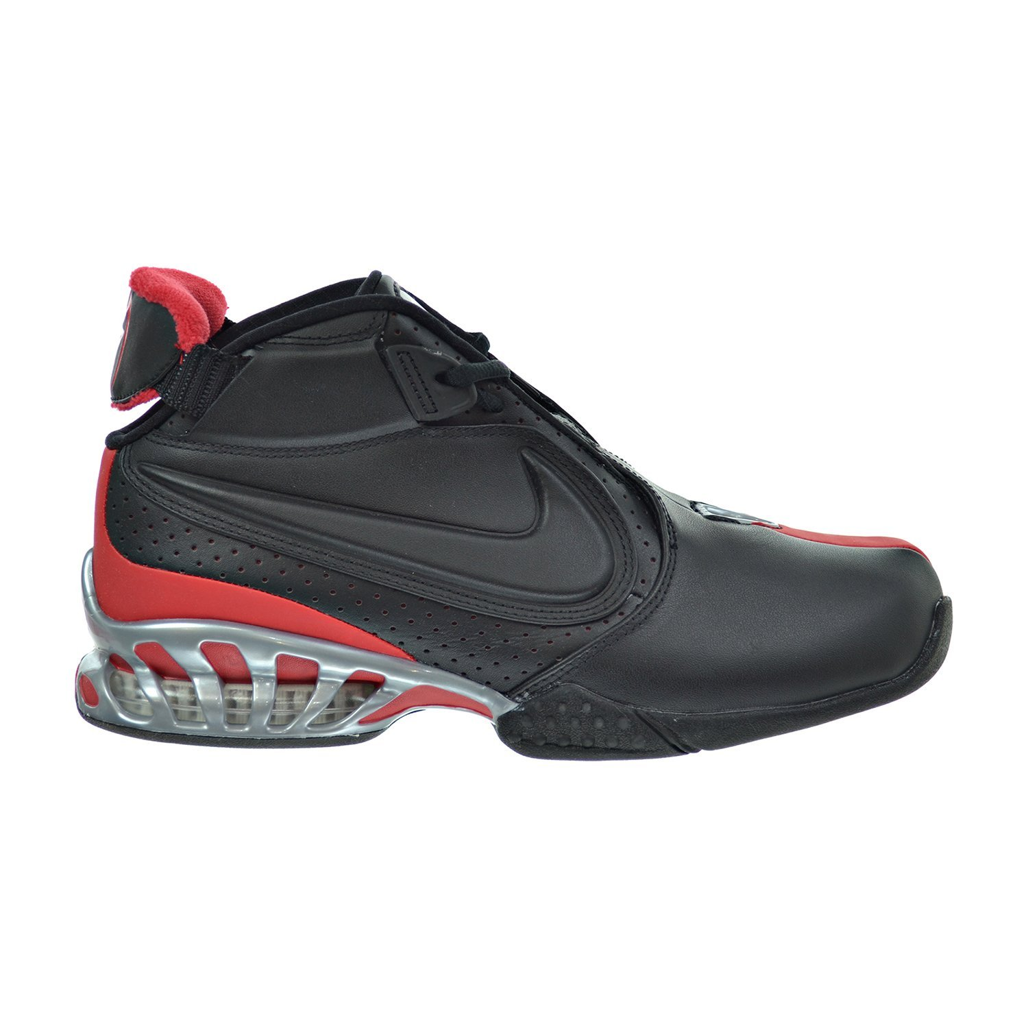 Nike Air Zoom Vick II Men\u0027s Shoes Black/Metallic Silver/University Red  599446-