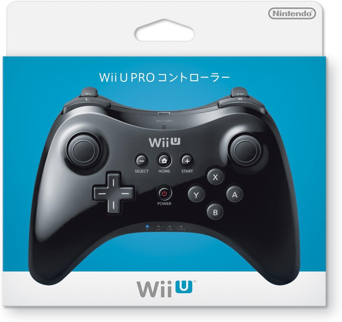 WiiU Pro Controller: Amazon.es: Videojuegos