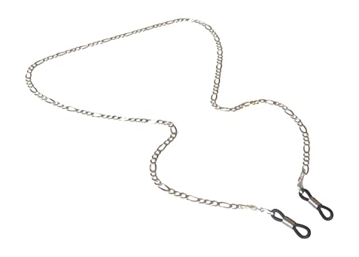e43d9d467ec0 Amazon.com  Silver Eyeglass Chain for Glasses