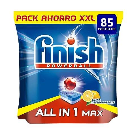Finish Todo en 1 Max Limón Pastillas para Lavavajillas - 85 ...
