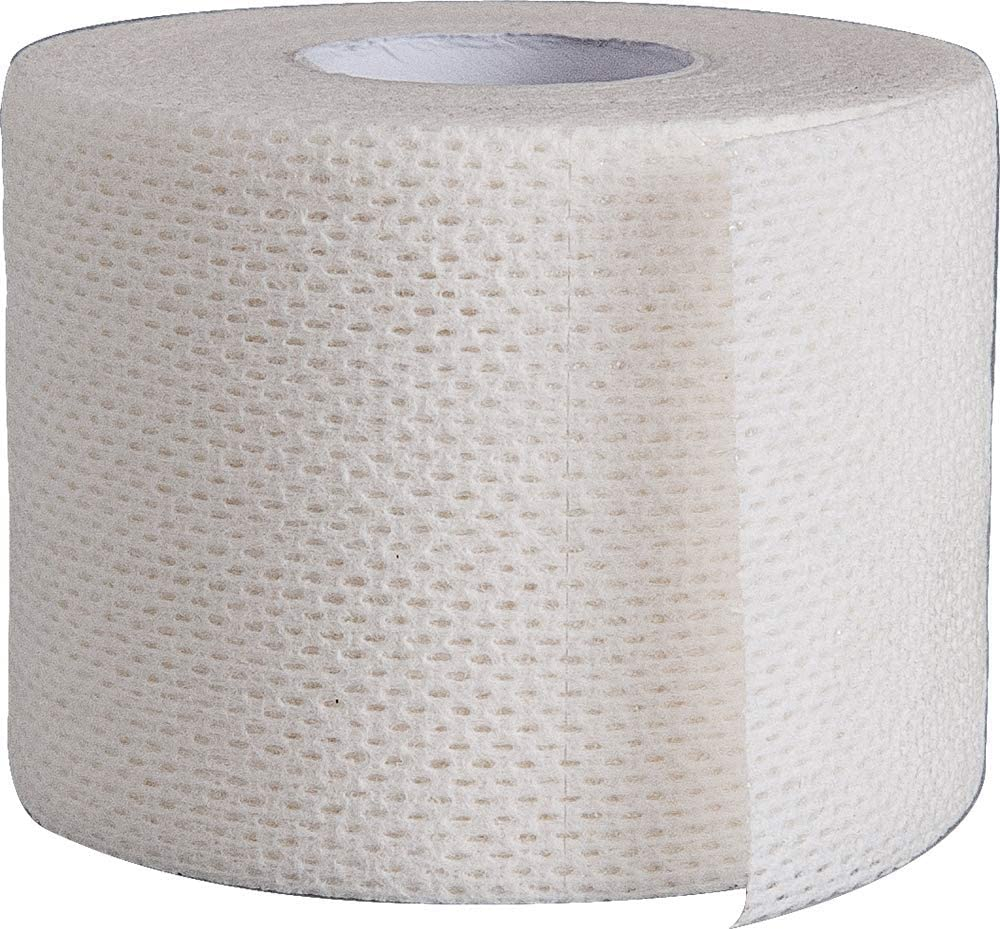 """Surgical Tape Porous Skin Soft Fabric Cloth Adhesive Tape 2"""" x 10 Yards Two Rolls; by Areza Medical: Health & Personal Care"""