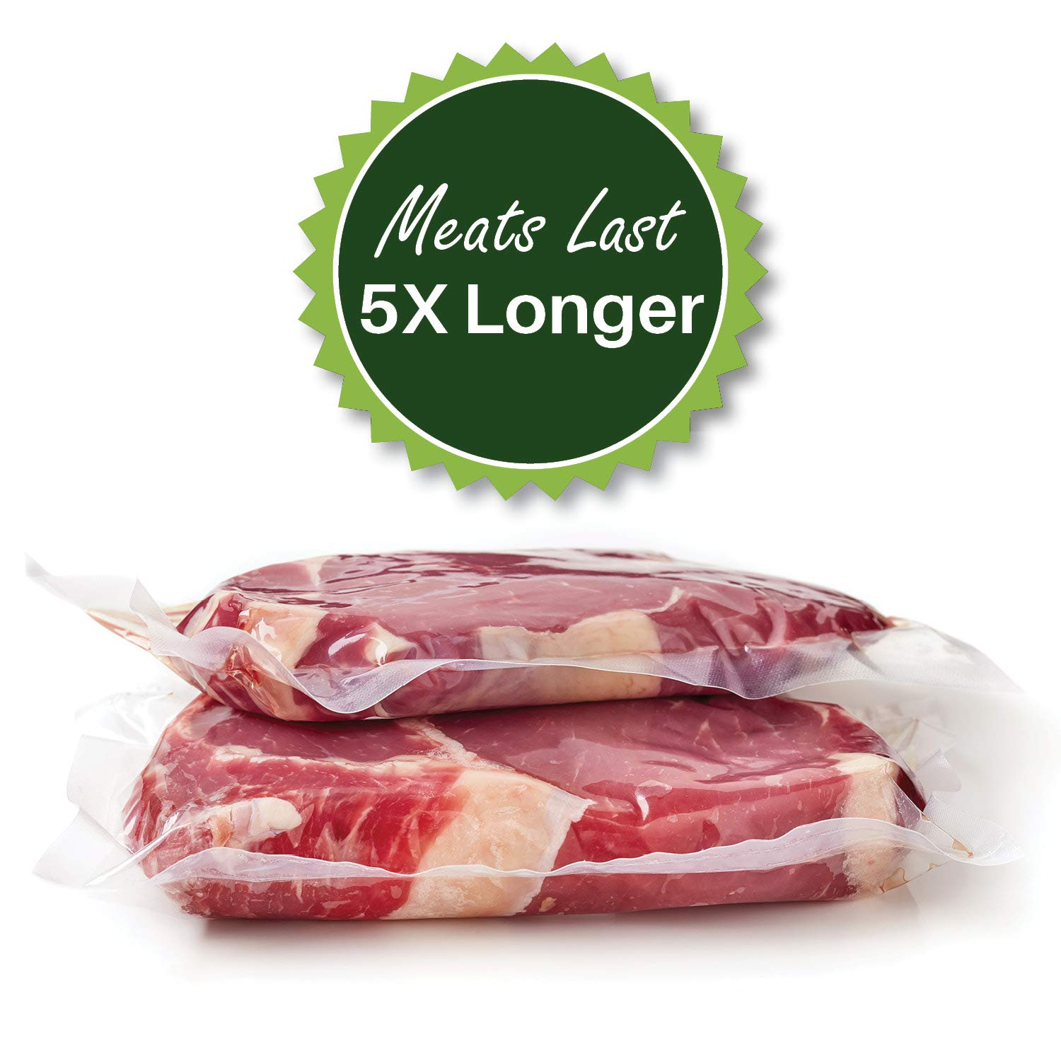 Eight 8X50 Rolls of 4 mil FoodVacBags Vacuum Sealer Bags by FoodVacBags (Image #6)