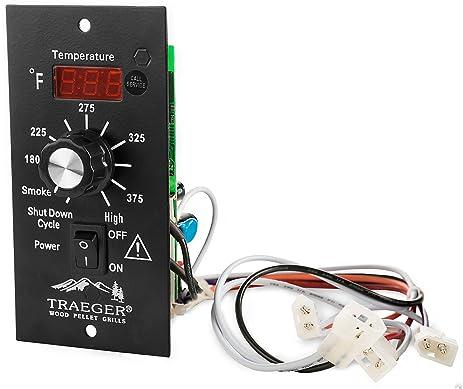 amazon com traeger pellet grills bac236 digital thermostat kit rh amazon com Traeger Thermometer Installation Traeger Grill Parts