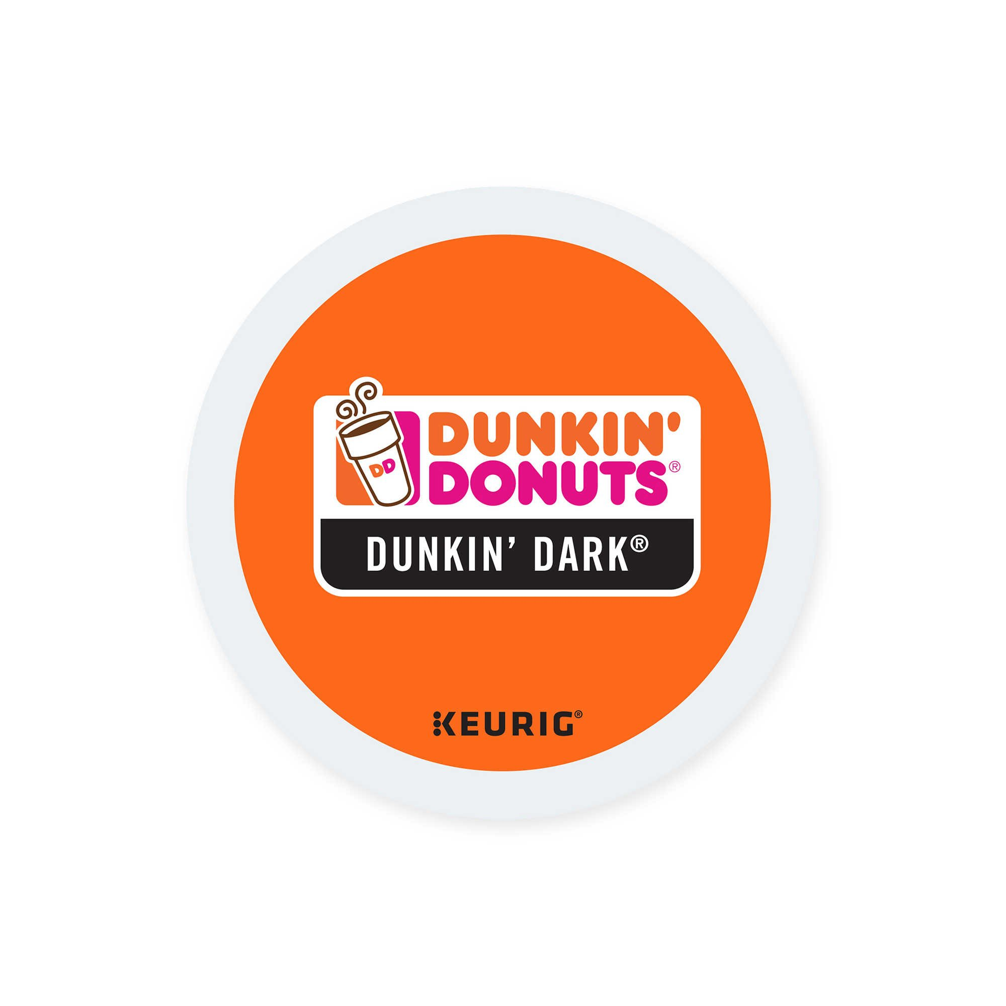 Dunkin Donuts Dunkin Dark, Dark Roast Coffee K-Cups For Keurig K Cup Brewers (96 Count)