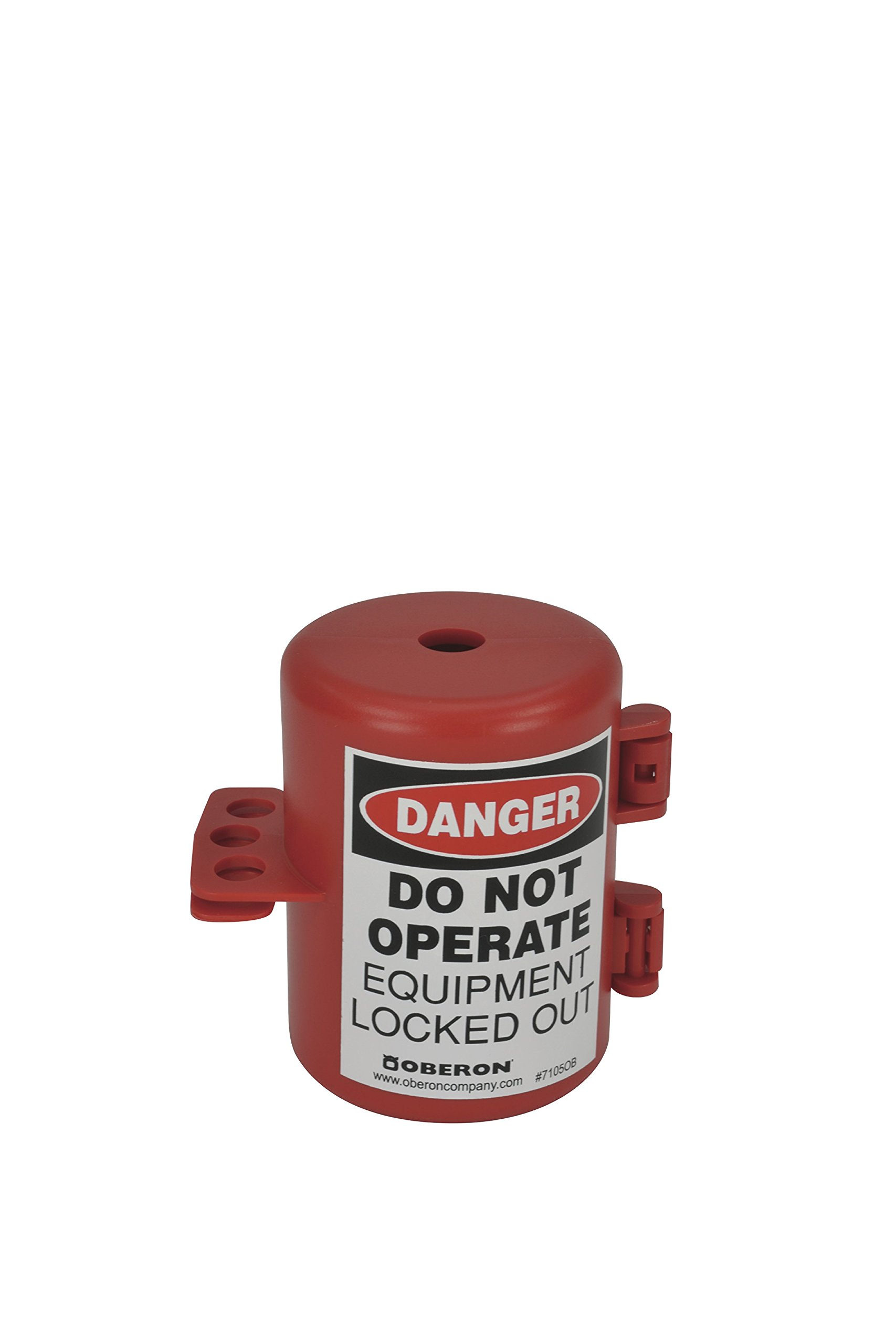 Oberon PLUG-SM Plug Lockout, 120V, Small, Red by Oberon Company