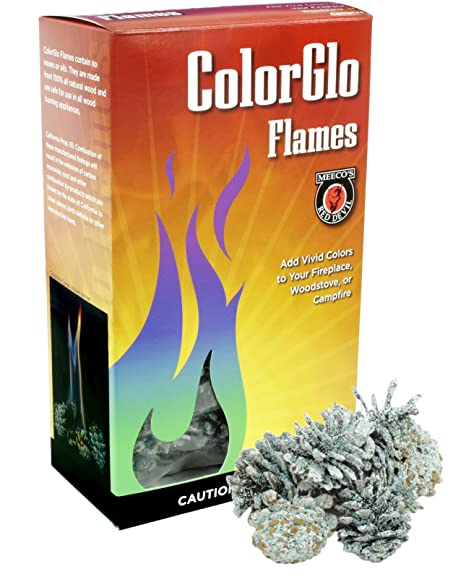 Amazon.com: meeco de red Devil 88110 colorglo Flame conos ...
