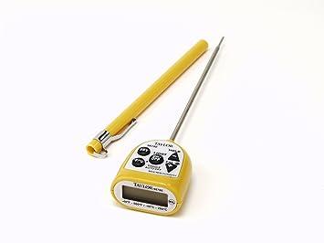Amazon.com: Taylor Precision Products Allergen Waterproof Digital Pocket Thermometer: Industrial & Scientific