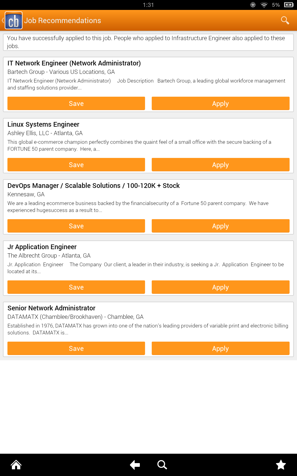 Amazon.com: Jobs: Appstore for Android
