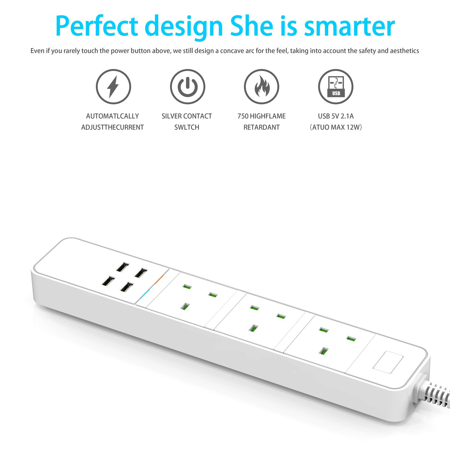 No Hub Required Power Strip LIMINK Smart Power Strip Wi-Fi Surge Protector Multi Plug Sockets with 3 AC Outlets 4 USB Port Remote Control Voice Control Works with Alexa Google Assistant and IFTTT