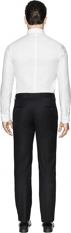Vardama Mens Tech Slim Fit Carbon Fiber Texture Stain /& Sweat Proof Shirt Columbus
