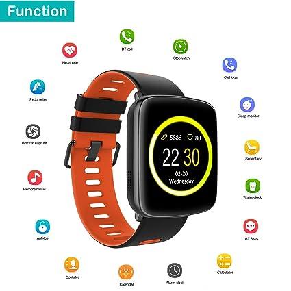 Amazon.com: Willful Smart Watch Fitness Tracker Watch with Pedometer Heart Rate Monitor Sleep Monitor Hands Free Call IP68 Waterproof for Men Women ...