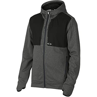 Oakley Men's Progression Fleece, Jet Black Heather, Small: Clothing