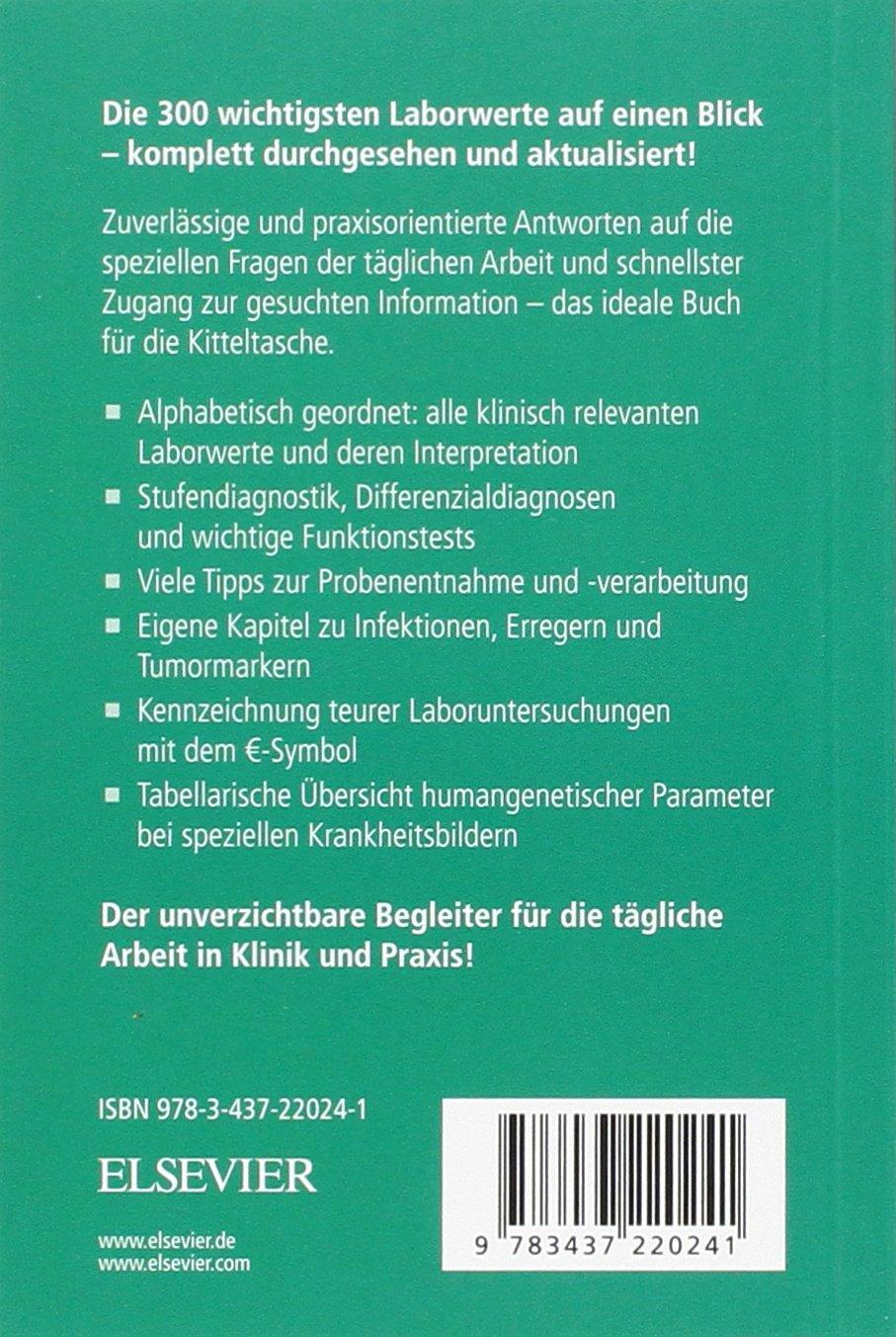 Laborwerte: Amazon.de: Arno J. Dormann, Berend Isermann, Christian ...