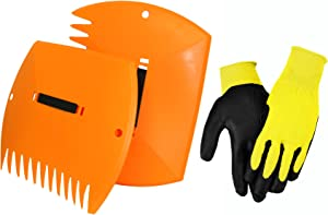 Combo Pack Includes Yellow Gloves and Orange Lawn Claws, P15P20