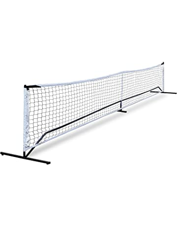 ZENY Portable Pickleball Tennis Net Set System w/Carry Bag Metal Frame Stand and Pickleball