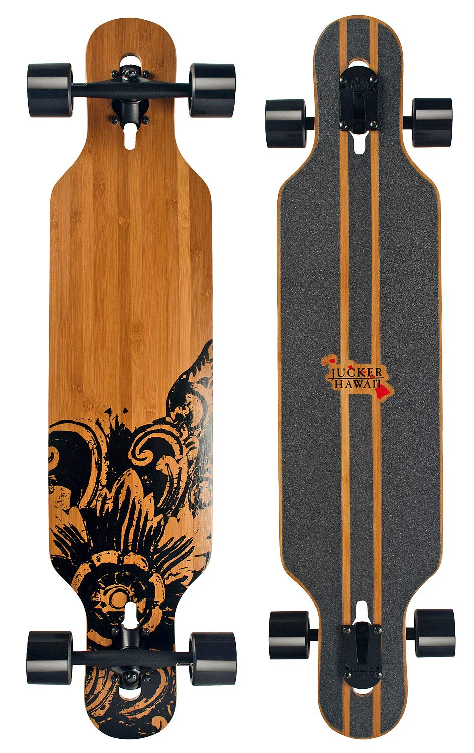 JUCKER HAWAII Monopatín Longboard New Hoku Flex 1 (Tabla Larga hasta 110 kg): Amazon.es: Deportes y aire libre