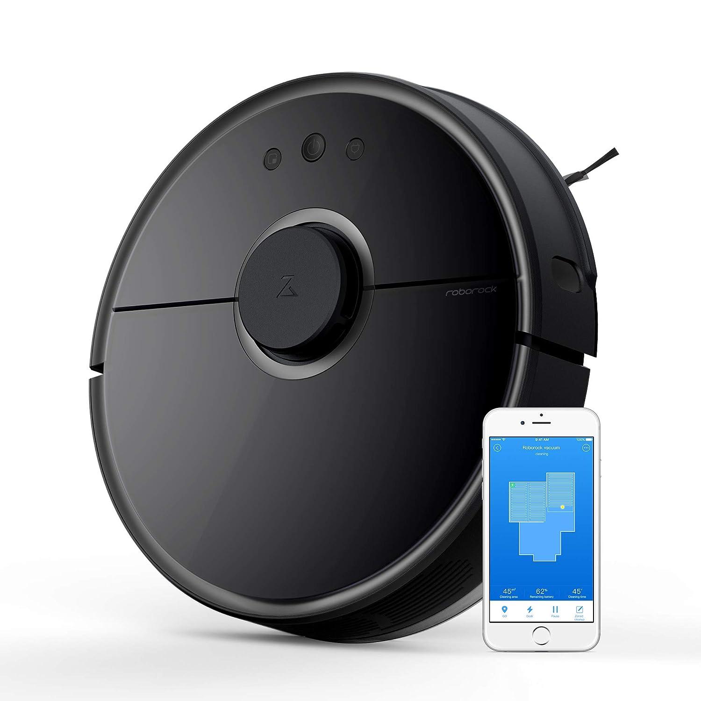 roborock S5 Robot Aspirador y Fregona, Robot Aspirador con Aspiración Potente de 2000Pa y Conectividad Wi-Fi, Navegación Inteligente y Batería con Capacidad ...