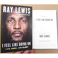 $59 Get Ray Lewis Ravens signed Book I Feel Like Going On 1st Printing