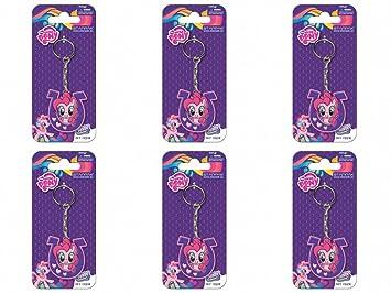 6 pieza My Little Pony Rainbow Power llavero Set obsequios ...