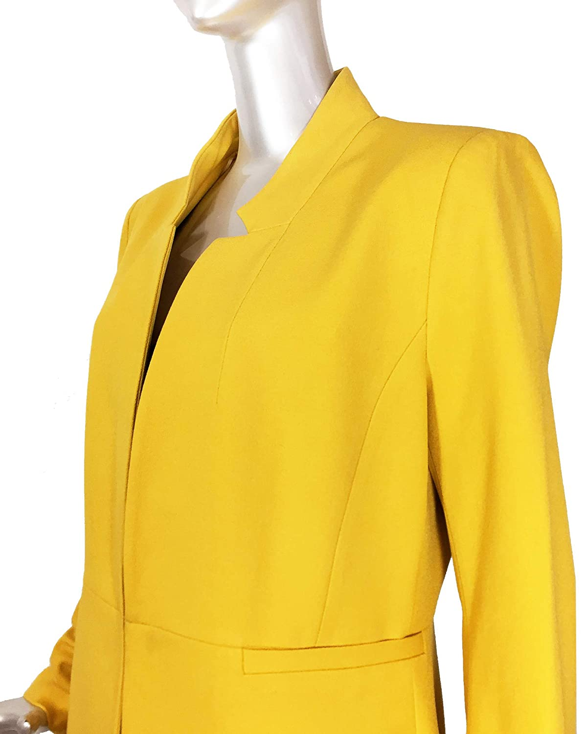 1eb4f161 Zara Women's Inverted Lapel Frock Coat 2143/293: Amazon.co.uk: Clothing
