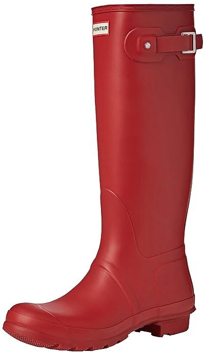 HUNTER Tall Botas de agua Mujer, Rojo (Military Red), 42 EU (