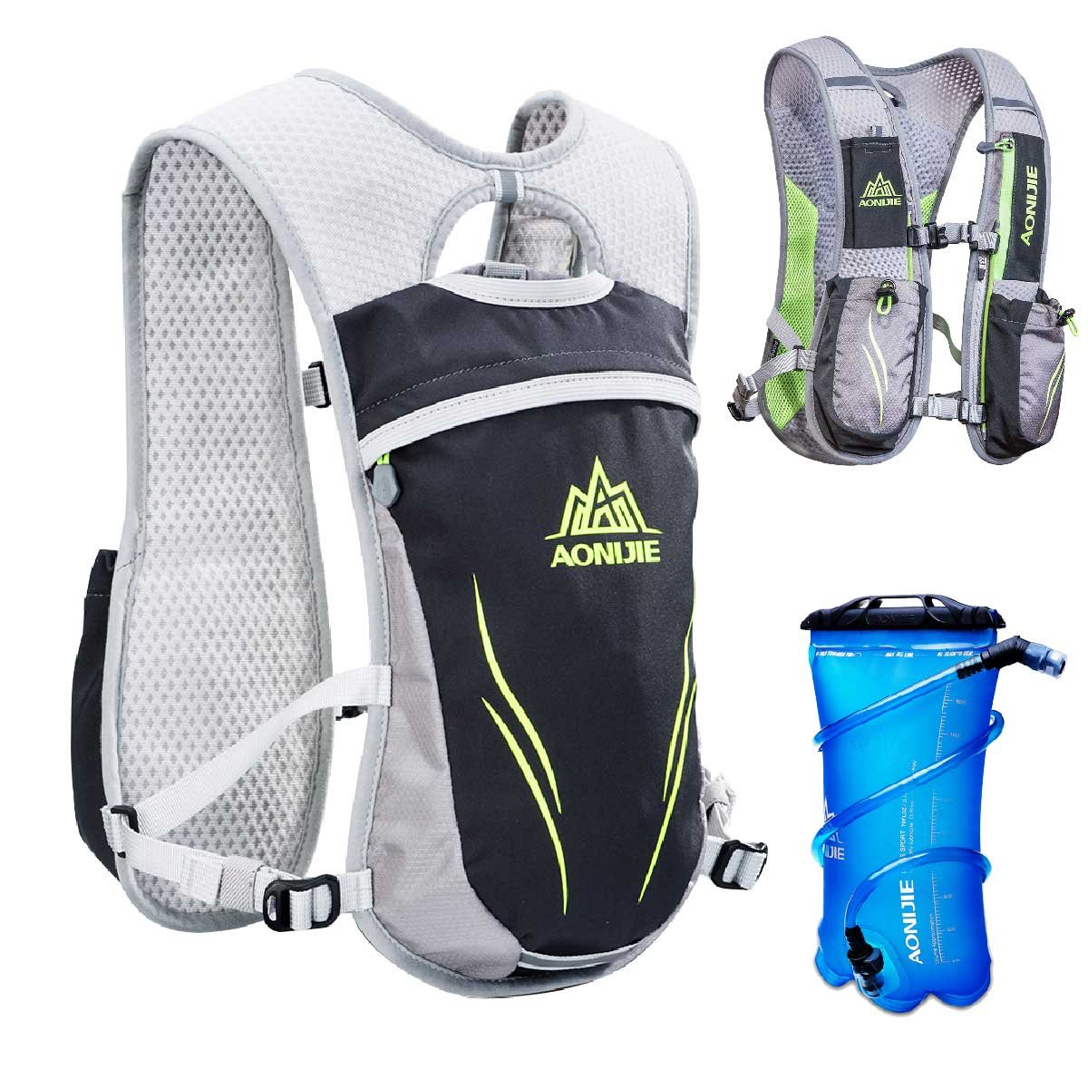 TRIWONDER Hydration Pack Backpack 5.5L Outdoors Mochilas Trail Marathoner Running Race Hydration Vest product image