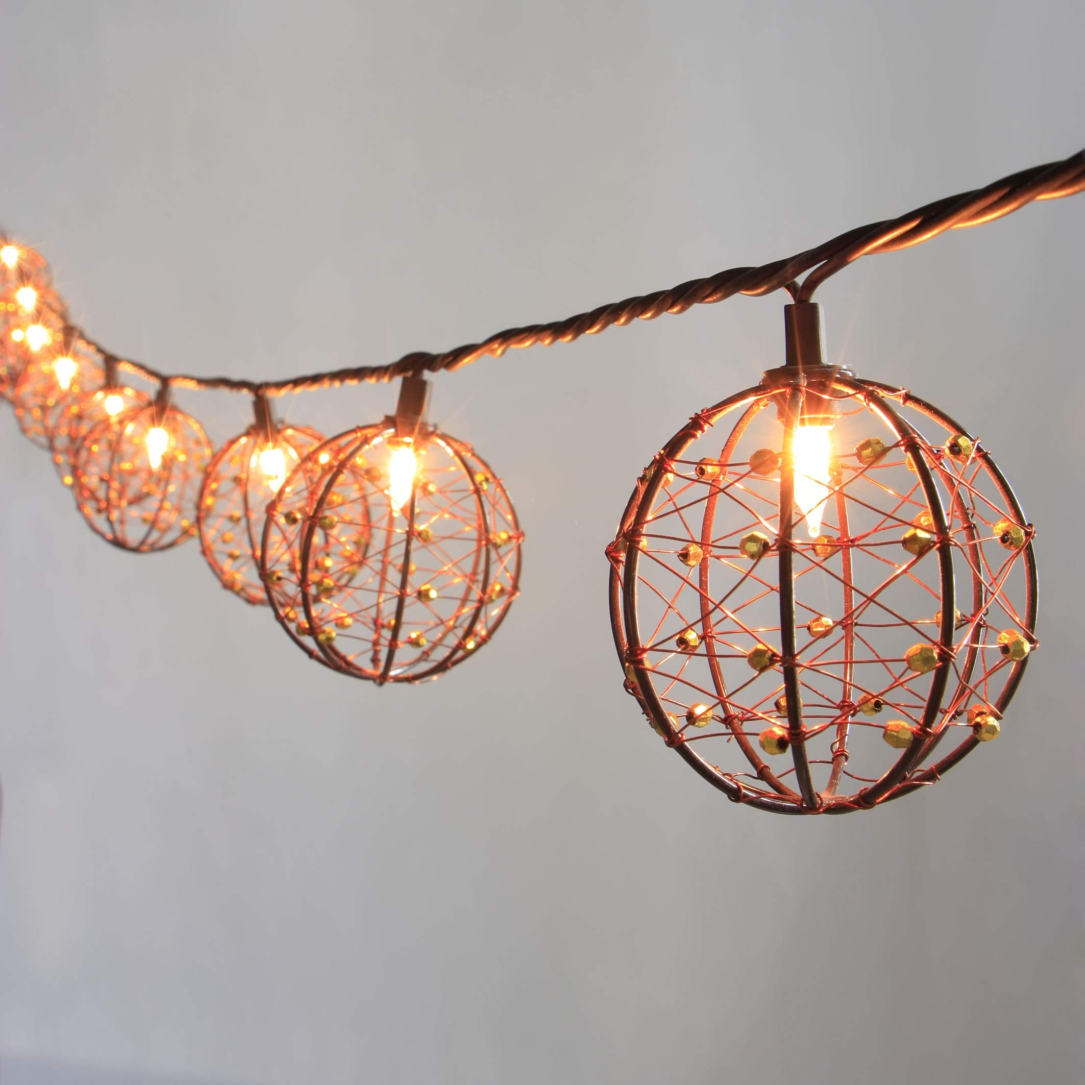 ZHONGXIN Outdoor Patio String Lights