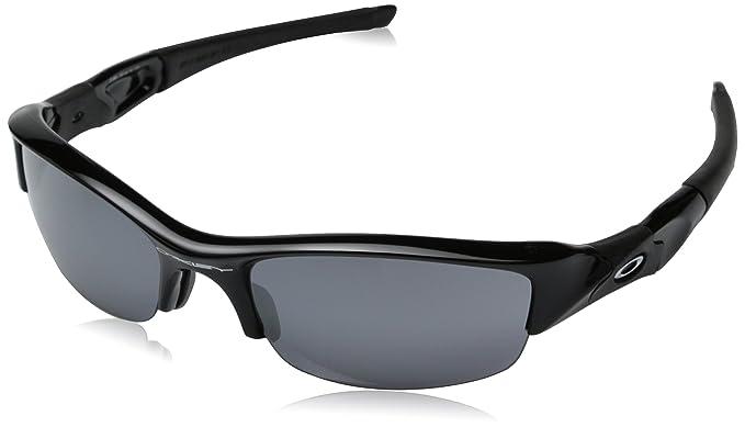 b85d487c66c Oakley Flak Jacket Adult Sport Designer Sunglasses Eyewear - Jet Black Black  Iridium