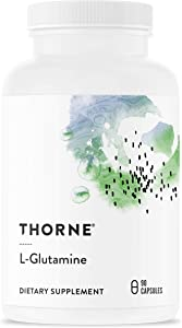 Thorne Research - L-Glutamine - Amino Acid Supplement for GI Health and Immune Function - 90 Capsules