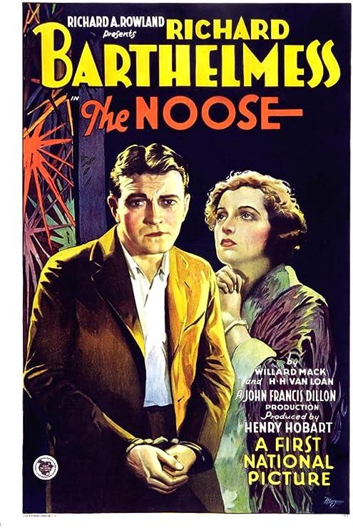 Amazon.com: Posterazzi The Noose From Left: Richard Barthelmess ...