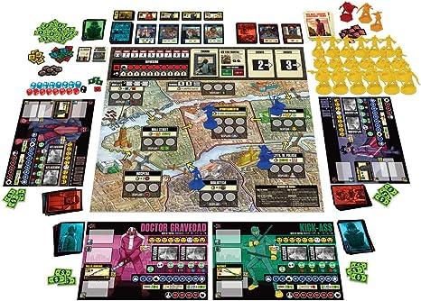 Edge Entertainment - Kick-Ass El juego de Tablero - Español (EECMKA01): Amazon.es: Juguetes y juegos