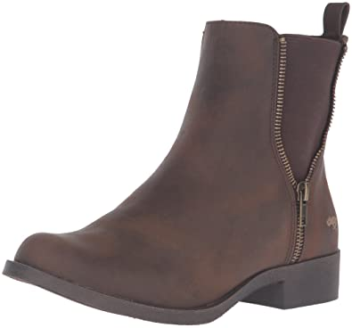 Rocket Dog Women's Camilla Graham Pu Ankle Bootie, Brown, ...