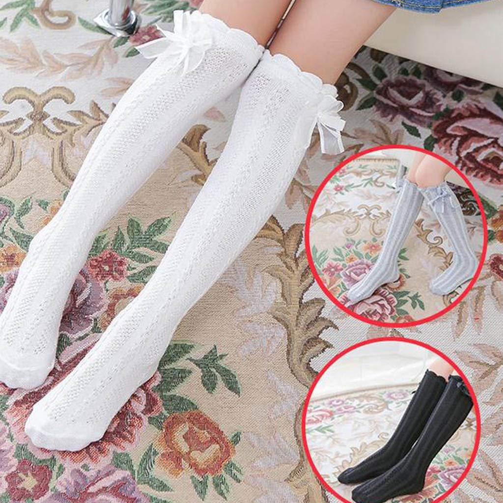 Fasclot Soft Girl Warm Cotton Twist Stockings Tight Cute Children Socks