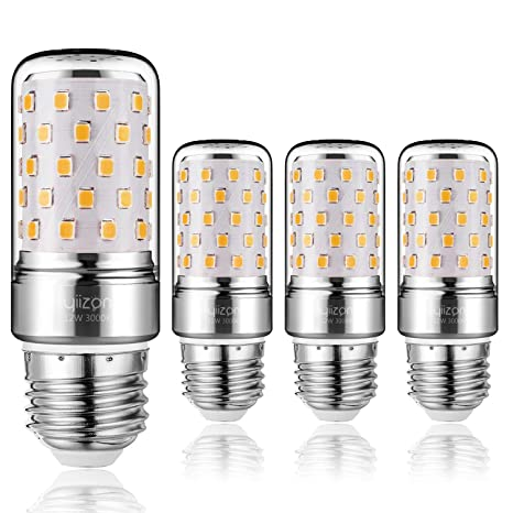 Yiizon E27 LED maíz bombilla, 12W, 3000K Blanco Cálido LED bombillas, 100W incandescente