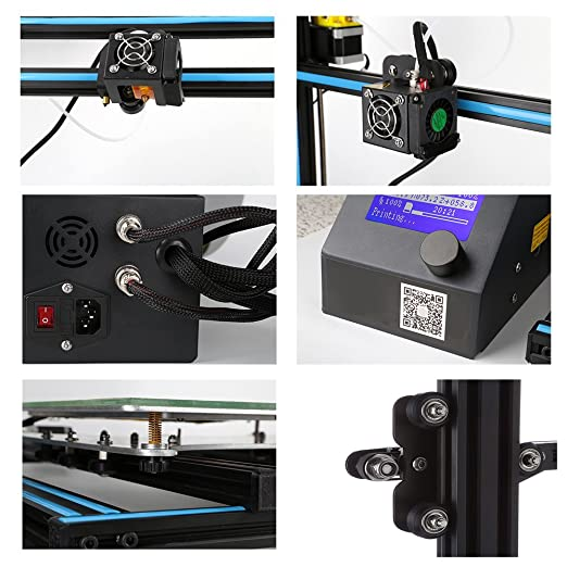 cctree creality CR de 10 S4 Impresora 3d DIY Kit grandes Impresión ...