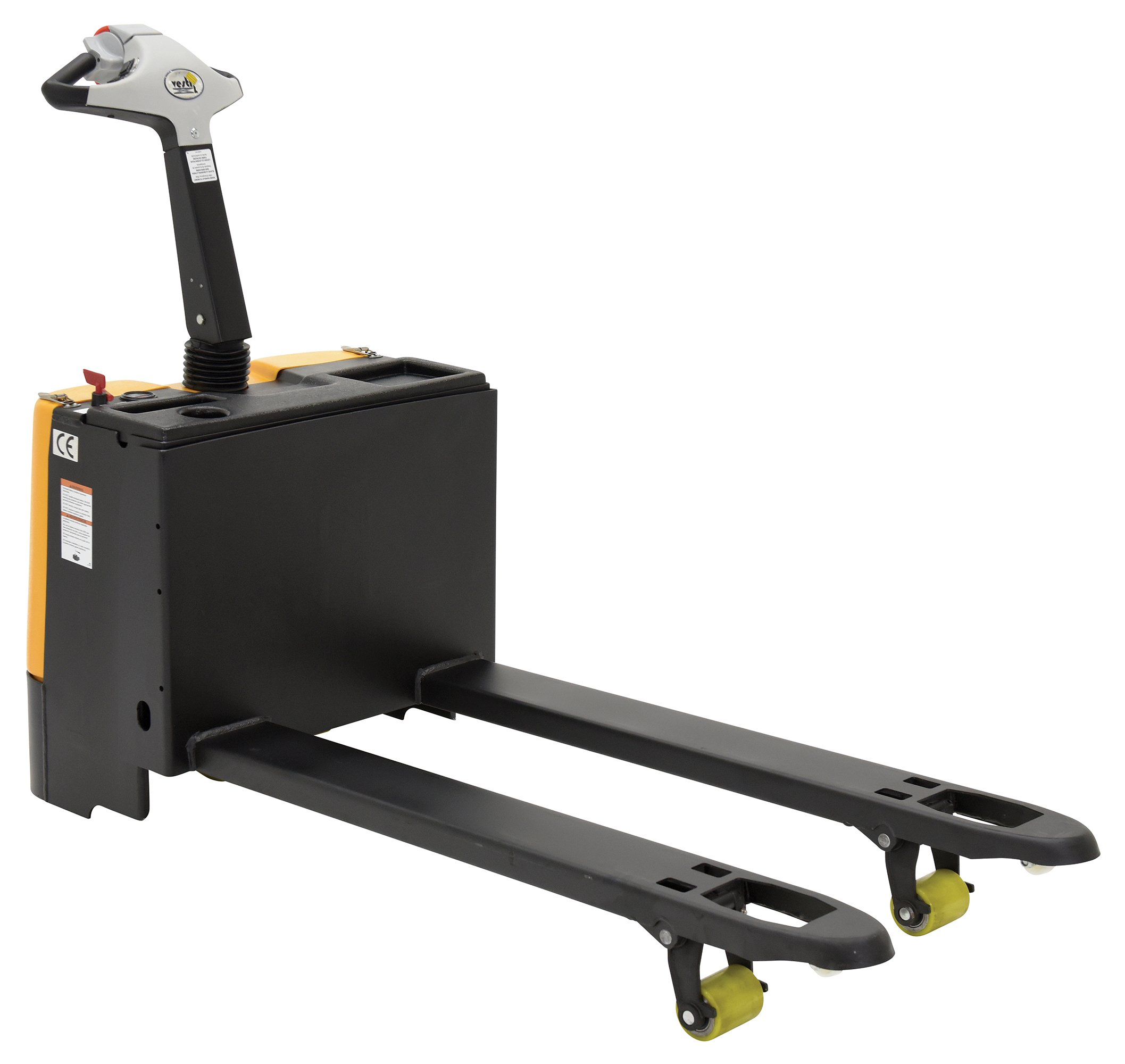 Vestil EPT-2547-30 Fully Powered Electric Pallet Truck, 3300 lbs Capacity, 47'' Length x 25'' Width Fork