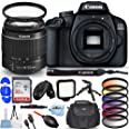 Canon EOS 4000D / Rebel T100 with EF-S 18-55mm III Lens - Pro Bundle Includes: Ultra 32GB SD, LED Light Kit, Tripod, Gadget B