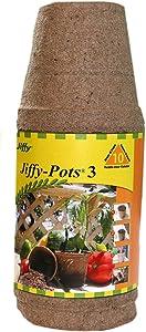 "Jiffy JP310 3"" Jiffy Pots 10 Count"