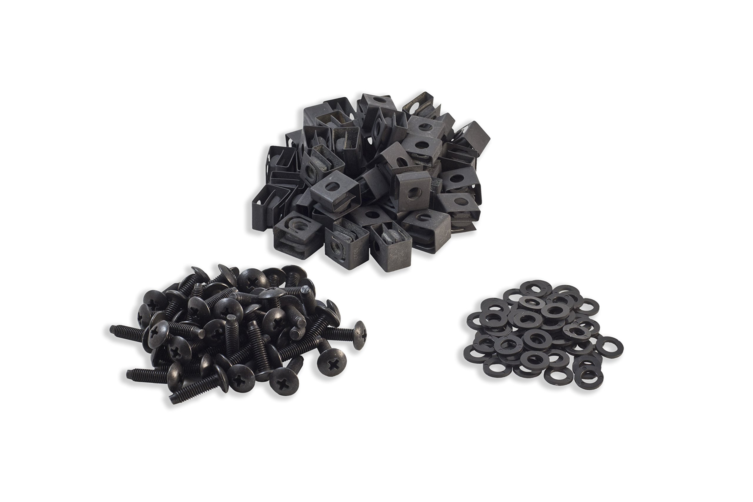 RackGold 12-24 Slide-on Cage Nut & Screws w/Washers 25-Pack - USA Made by RackGold (Image #2)