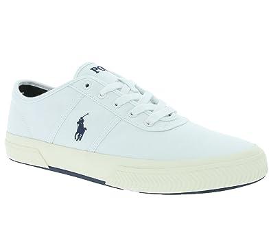 Polo Ralph Lauren Tyrian Schuhe Herren Sneaker Turnschuhe Weiß A85 XZ4YZ XY4YZ XW4RF