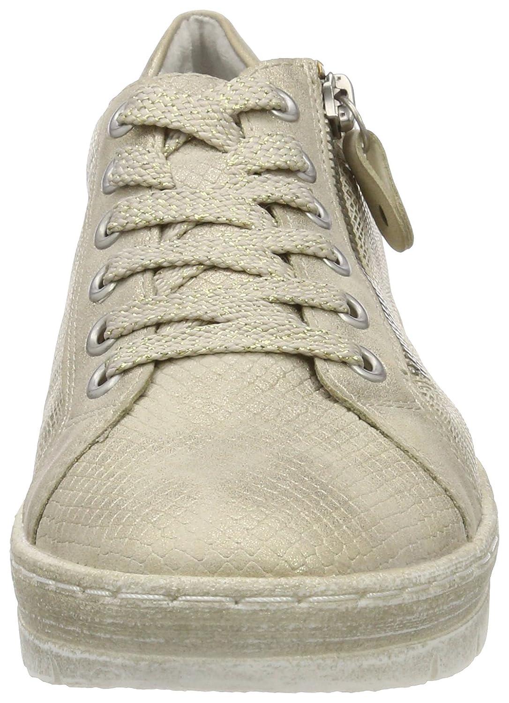 Remonte Damen D5810 D5810 Damen Sneaker Beige (Gold-60) 50f9c7