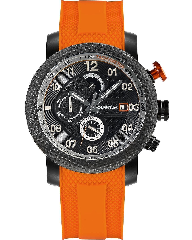 QUANTUM Herren-Armbanduhr Hunter Chronograph Quarz Silikon PWG484.650