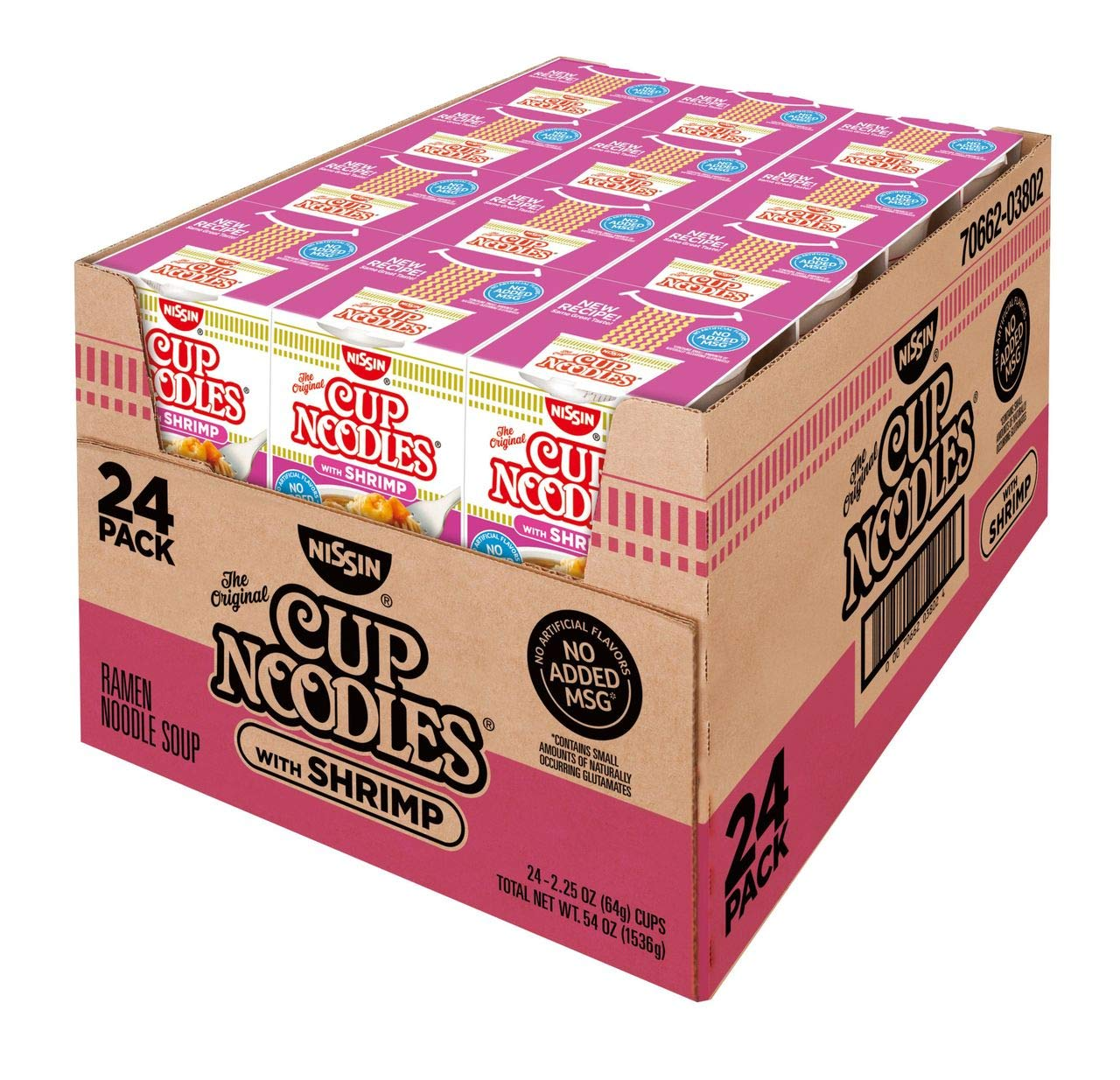 Product of Nissin Cup Noodles with Shrimp, 24 pk./2.25 oz.