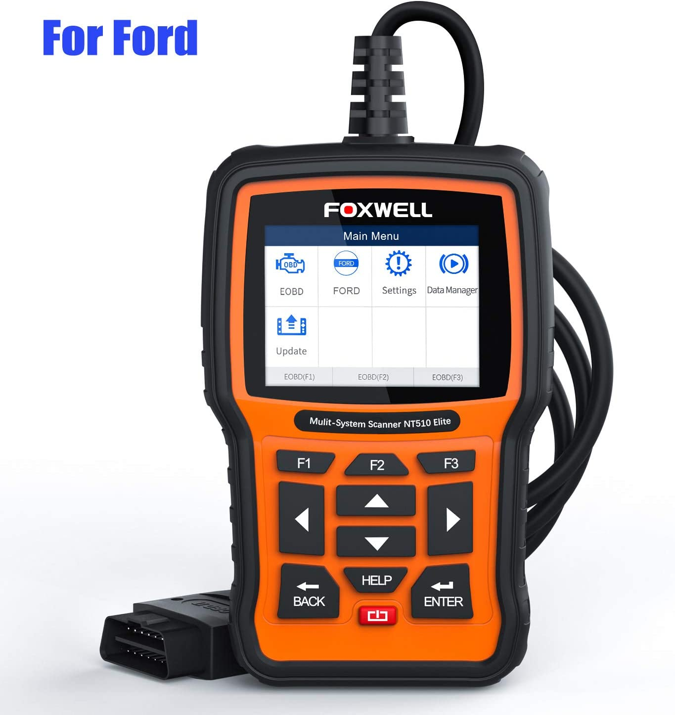 Scanner Engine Light Clear Wireless OBD2 Code Reader for Ford B-Max