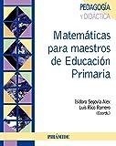 Matemáticas para maestros de Educación Primaria (Psicología) - 9788436825657