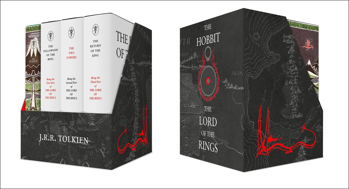 The Middle-Earth Treasury: The Hobbit and The Lord of the Rings