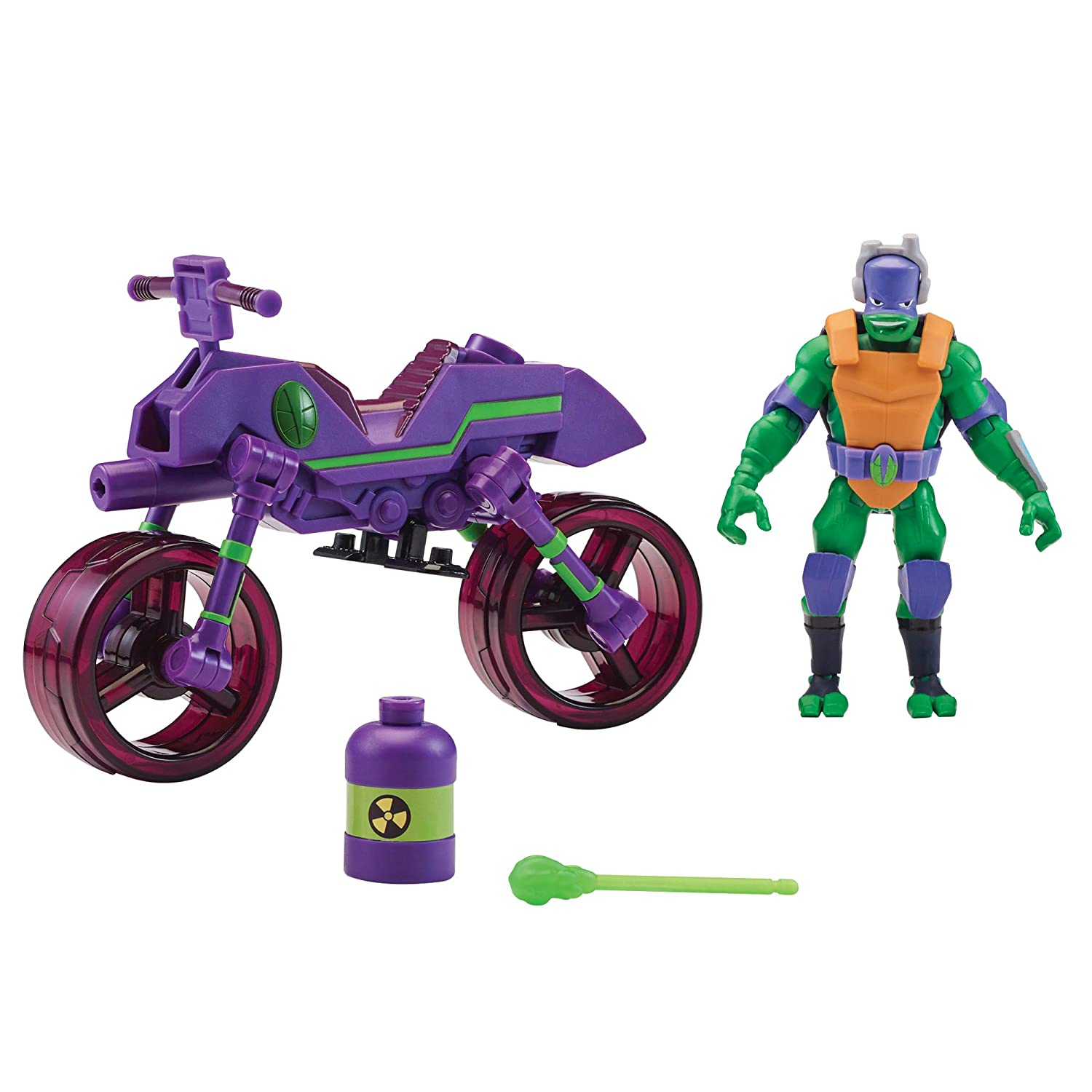 Rise of the Teenage Mutant Ninja Turtles Bug Buster Cycle with Exclusive Donatello